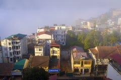 Крыши SaPa в Вьетнаме Стоковые Изображения RF