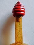 Крышка античного craquelure бутылки Стоковое Фото