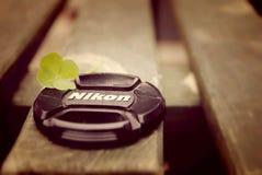 Крышка для Nikon стоковое изображение