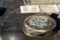 Крышка жидкости шайбы автомобиля Стоковое Изображение