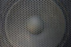 Крышка звука металла Стоковое фото RF