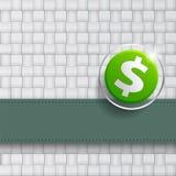 Крышка дизайна доллара Стоковое фото RF