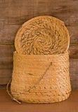 крышка индейца guatamala корзины Стоковое фото RF
