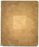 крышка книги старая стоковое изображение