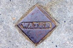 Крышка клапана воды Стоковое Фото