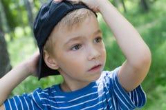 крышка мальчика Стоковые Фото