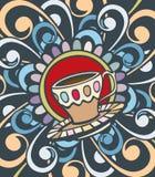 Крышка меню кофе Стоковая Фотография