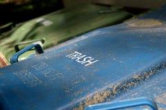 Крышка мусорного бака Стоковые Фото