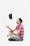 Крышка падения человека Стоковое фото RF
