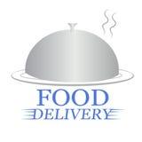 Крышка поставки еды иллюстрация штока