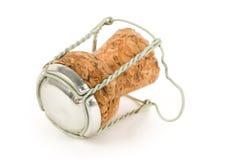крышка пробочки шампанского стоковая фотография rf