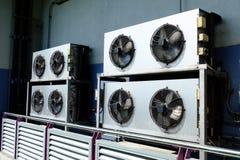 Крышка решетки компрессора кондиционеров воздуха Стоковая Фотография