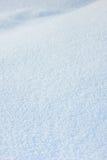 Крышка снега белая стоковая фотография