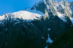 Крышка снега горы стоковое фото rf