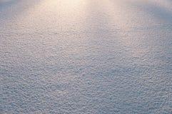 Крышка снега - естественная предпосылка зимы Стоковые Фотографии RF