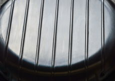 Крышка электрического создателя waffle нержавеющая стоковое изображение