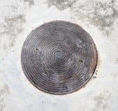 Крышка люка Стоковое фото RF