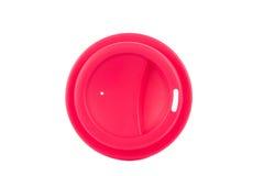 Крышка для пластичной чашки Стоковое фото RF
