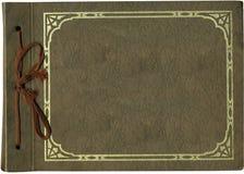 крышка antique альбома Стоковое Фото