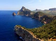 Крышка de Formentor - Майорка - Испания Стоковые Изображения