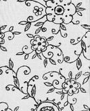 Крышка decorataper флористическая Стоковые Фотографии RF