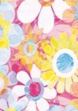 Крышка decorataper флористическая Стоковая Фотография RF