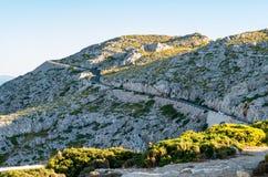 Крышка Formentor Мальорка, Испания Стоковые Изображения RF