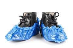 Крышки ботинка на белой предпосылке Стоковое Изображение RF