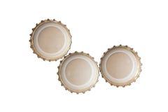 Крышки пива стоковая фотография rf