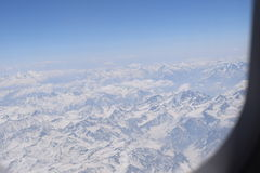 Крышки снега стоковое изображение