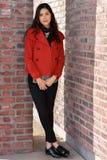 Крышк-девушка стоковая фотография rf
