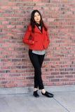 Крышк-девушка стоковое изображение rf