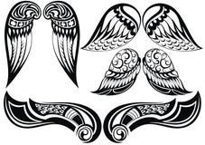 Крыла Анджела Стоковые Изображения RF