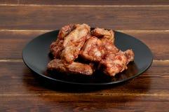 Крыла барбекю цыпленка Стоковая Фотография
