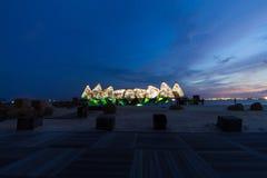 Крыла выставки времени в Сингапуре Стоковые Изображения