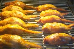 Крыла жареного цыпленка Стоковые Изображения RF