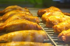 Крыла жареного цыпленка Стоковое Изображение