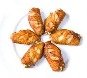 крыла цыпленка Стоковые Изображения RF