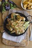 крыла цыпленка Peri-peri Стоковые Изображения