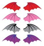 Крыла дьявола Стоковые Фото