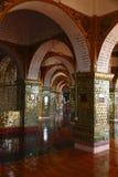 Крылечко в славном дворце Стоковое Изображение RF