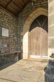 Крылечко St Leonard Downham Стоковые Фотографии RF