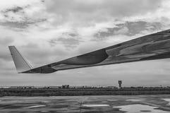 Крыло двигателя Стоковое Изображение
