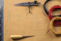 Крыло рассекателя, шить шило и поток Стоковые Фотографии RF