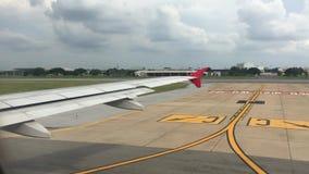 Крыло самолета сток-видео
