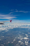 Крыло самолета Стоковое фото RF