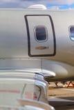Крыло фюзеляжа непредвиденной двери Стоковые Изображения