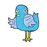 крыло шуточной птицы шаржа развевая Стоковое Изображение