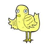 крыло шуточной птицы шаржа развевая Стоковая Фотография