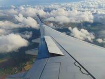 Крыло Ryanair Стоковая Фотография